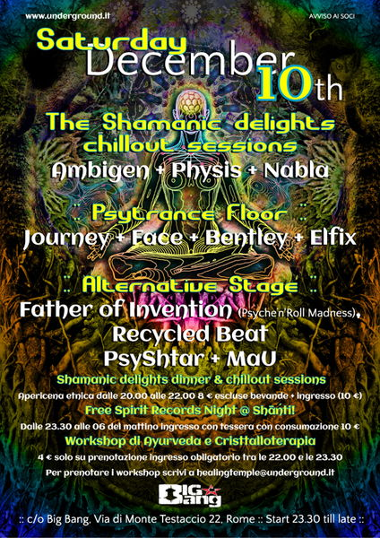 Śhānti! v.5.1 ::  Through The Mirror psy trance rome italy